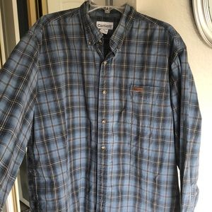 Carhartt mens long sleeve button up.  XL